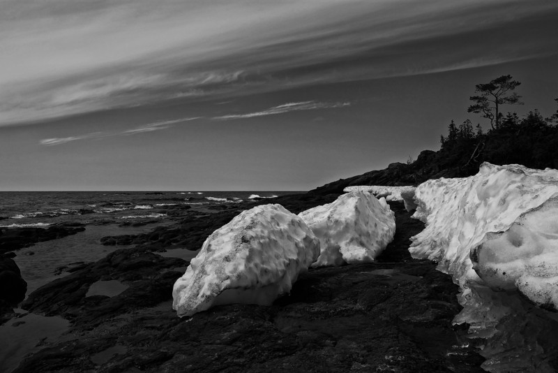 Last of the ice, Lake Superior