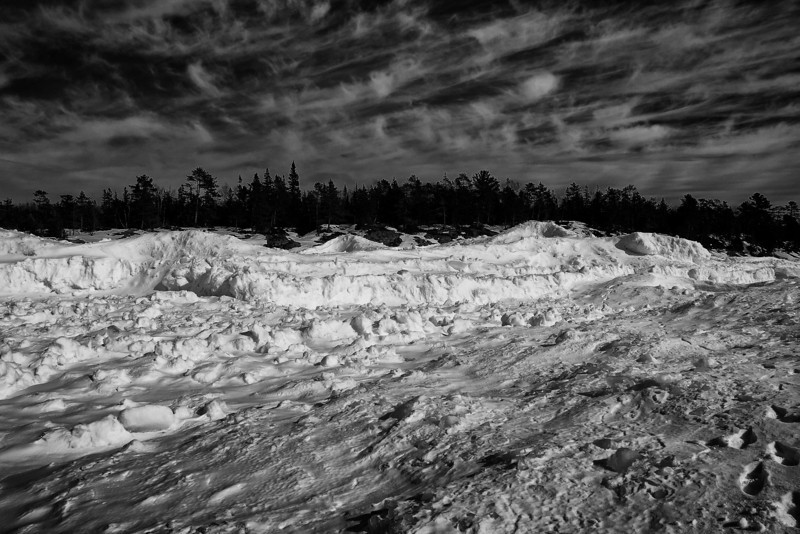 A walk on Lake Superior