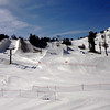 Snowboard Pipes at Mammoth Lakes CA 2