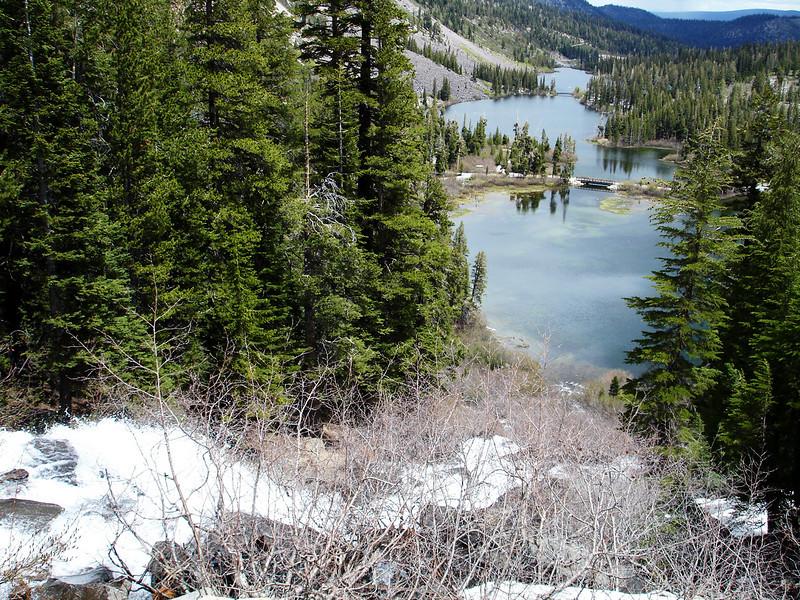 Spring Snow Melt in Mammoth
