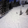 Fresh Powder at Mammoth Lakes California