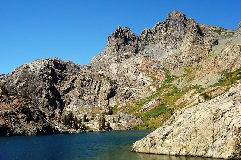 Mineret Peak at Mammoth Lakes, CA
