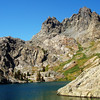 Mineret Peak at Mammoth Lakes, CA