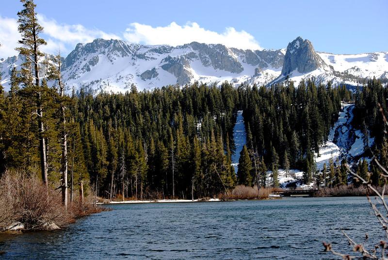 Twin Lakes at Mammoth Lakes CA