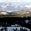 White Mountain Range in Mammoth Lakes California
