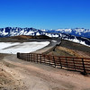 Mammoth Lakes Ski Run Without Snow in California