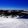 Mammoth Lakes Ski Run in California