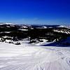 Mammoth Lakes Ski Run in California