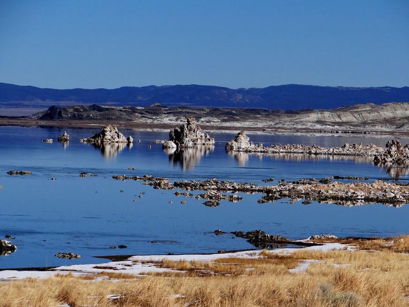 Mono Lake near Mammoth Lakes California