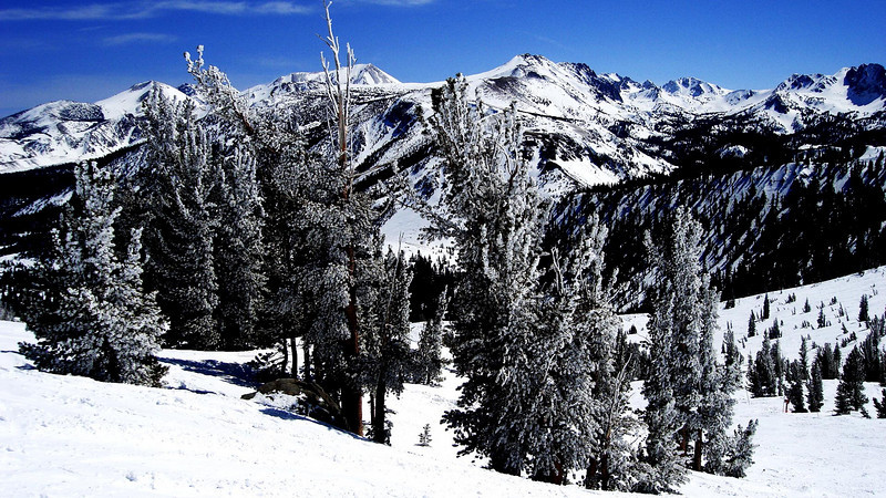 Mammoth after new snow