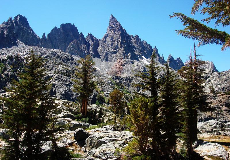 Mineret Peak 2 at Mammoth Lakes, CA