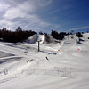 Snowboard Pipes at Mammoth Lakes CA