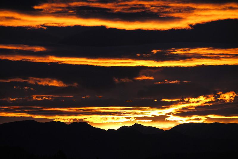 Sunrise in Mammoth