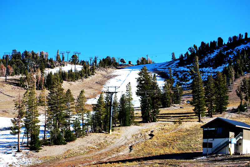 Ski Season will Begin in a few weeks at Mammoth Lakes California 2