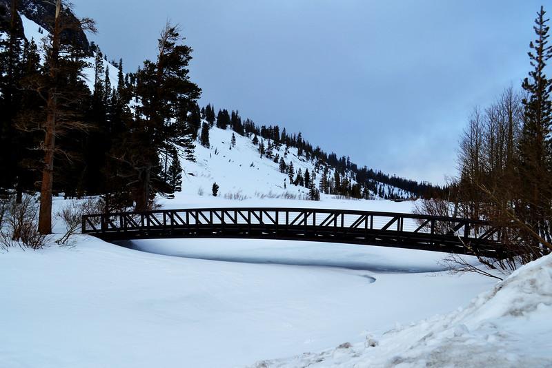 Bridge at Mammoth Lakes California