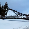 Bridge at Mammoth Lakes California