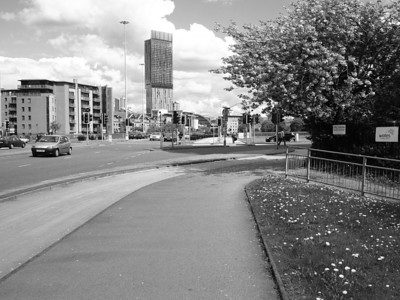 Manchester in Black and White