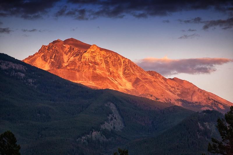 Jasper, Alberta Sunset