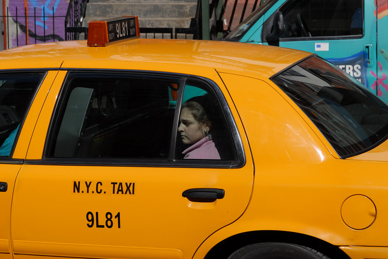 See EXIF DATA for details<br /> Cab Passenger :-(