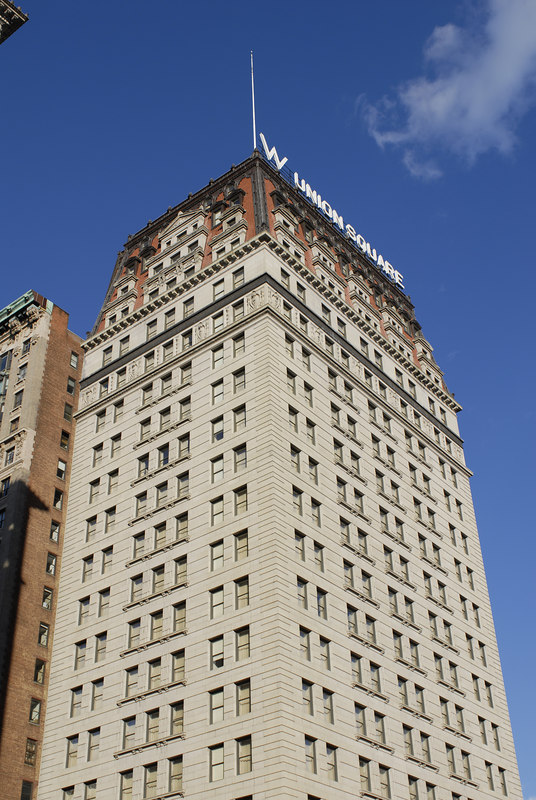 See EXIF DATA for details<br /> W Hotel Exterior, Union Square Park