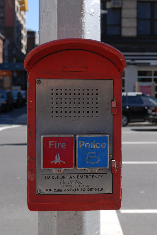 See EXIF DATA for details<br /> Police and Fire Box