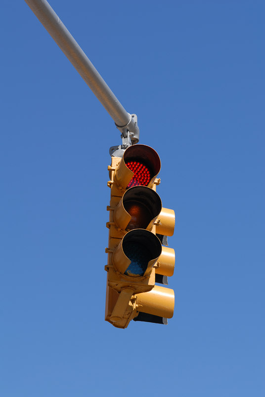 See EXIF DATA for details<br /> Red Traffic Signal and Sky
