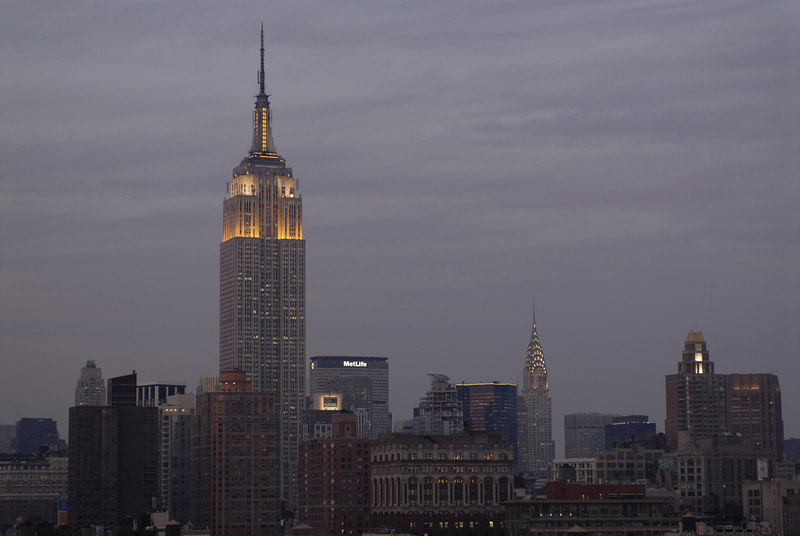 See EXIF DATA for details<br /> New York City at Dusk