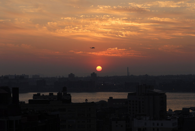 See EXIF DATA for details<br /> This image has been color corrected in Photoshop<br /> Sunset from Manhattan