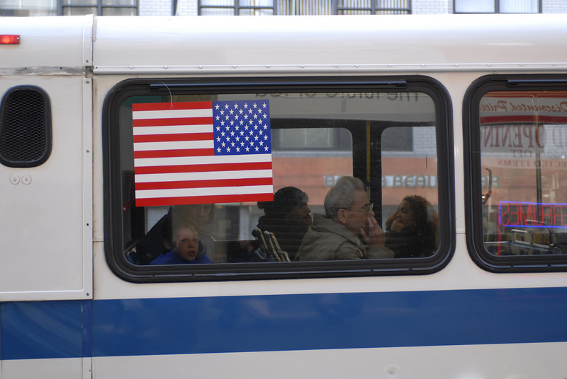 See EXIF DATA for details<br /> Bus Passengers 14th Street