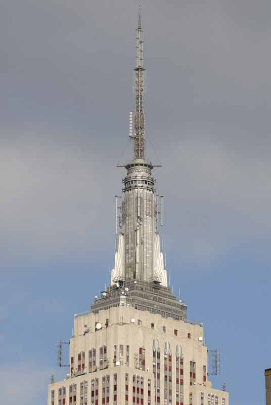 See EXIF DATA for details<br /> Empire State Building 34th and 5th<br /> View Original to see Camera Detail<br /> Look At ESB Antenna Shot from 23rd and 8th
