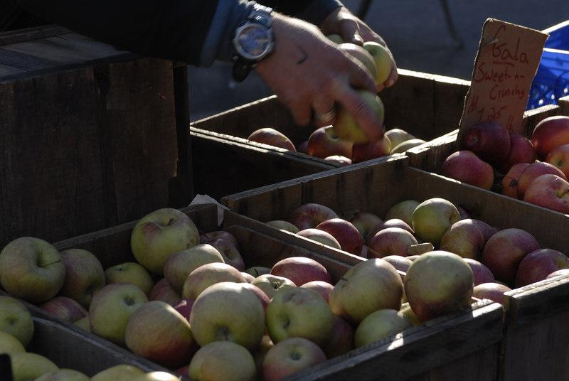 See EXIF DATA for details<br /> Apple Vender Union Square Park