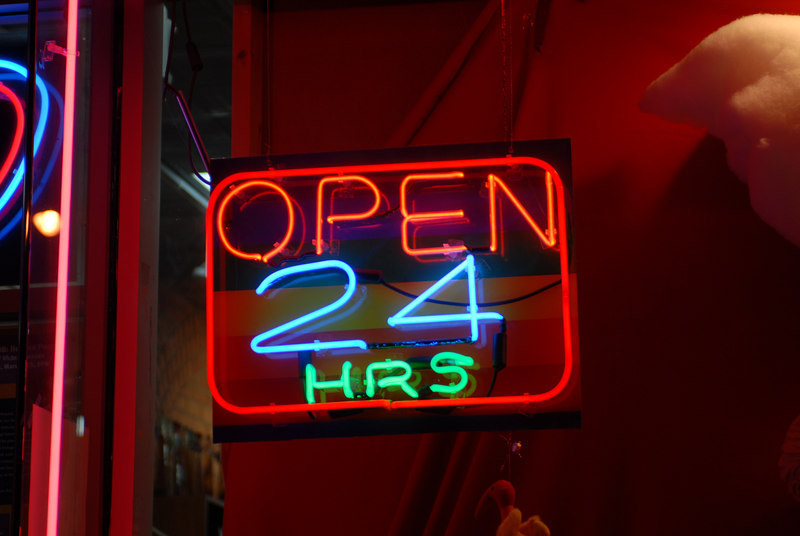 See EXIF DATA for details<br /> Open 24hrs Neon