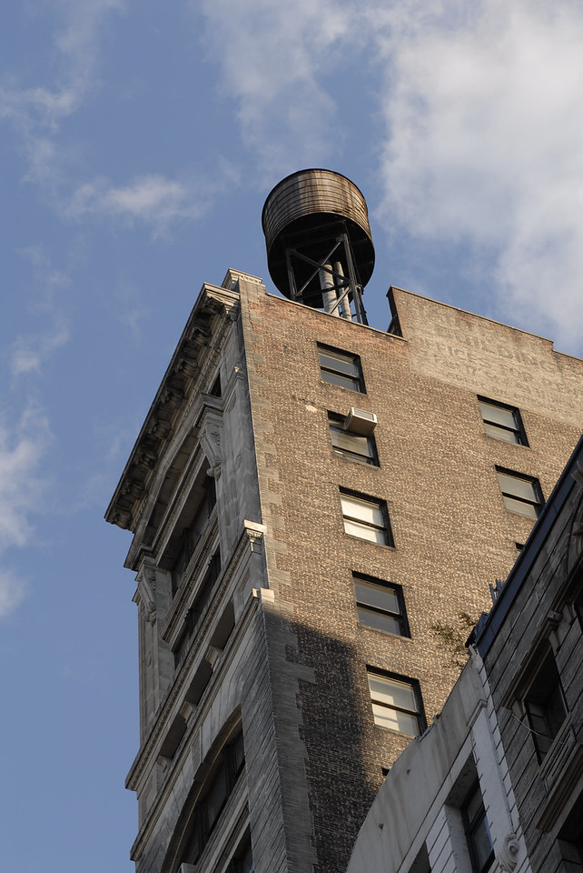 See EXIF DATA for details<br /> Old Manhattan Building and Sky