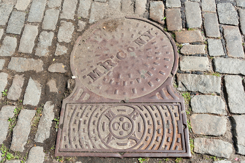 OHNY Manhole Cover Tour on 14th Street October 2011