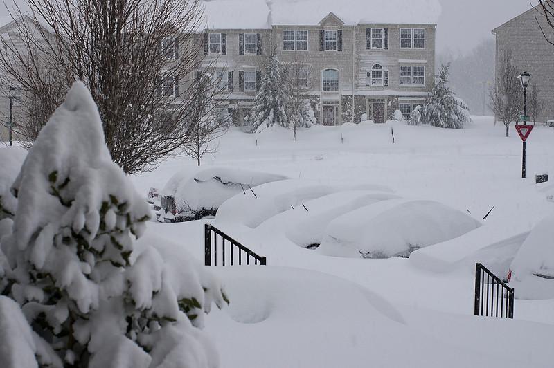 Ellicott City in Winter