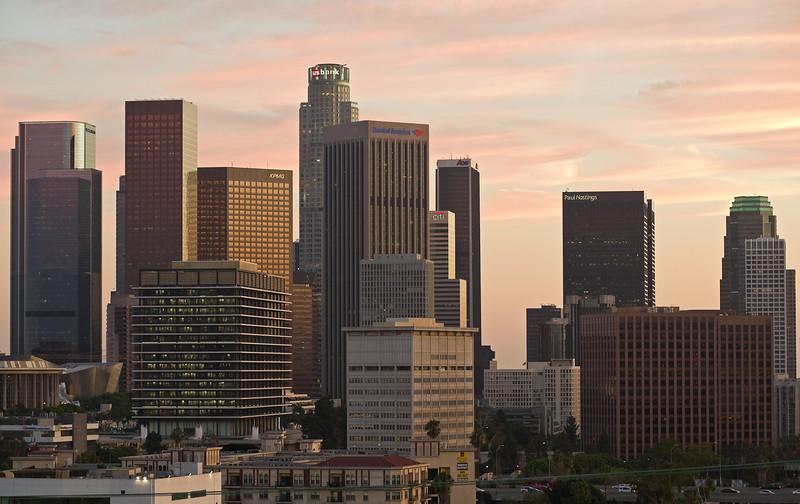 View from Figueroa Terrace
