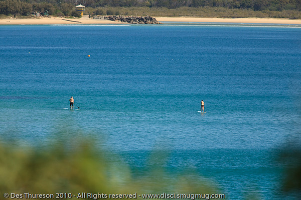 The idyllic waters of Laguna Bay - Noosa National Park, Sunshine Coast, Queensland, Australia; Friday 6 August 2010.