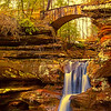 """Upper Falls, "" Hocking Hills"