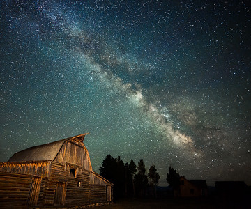 Wyoming Night Sky