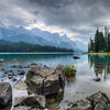 Fred Haaser, Lake Maligne, color print on metal 16x20, $160, pack489@yahoo.com, 513-389-6463