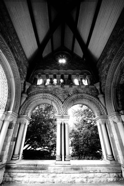 In the Portico