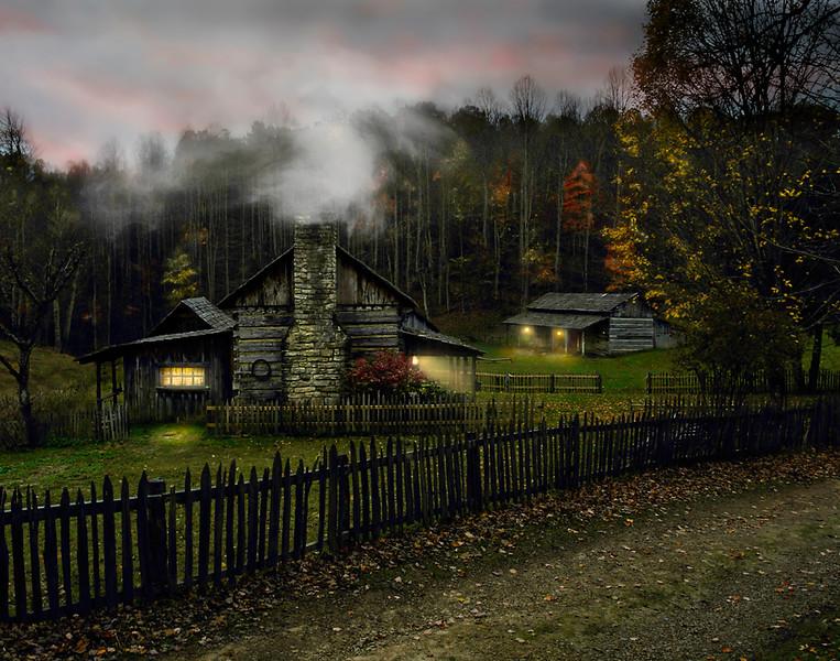 Bekkie Harper, Nightfall, color print, finished size 16x20, $225, shutterbugbekkie@yahoo.com, 740-464-8028