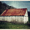 Pam DeCamp; White Barn; Digitally Enhanced Photography on Metallic Paper; 16x20; $225; pdcpics1982@yahoo.com; (740) 981-2207