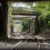 Larry Snodgrass  Down the Tracks,framed digital print, 16x24, $160, lsnodgrass@insightbb com, 859-359-0409