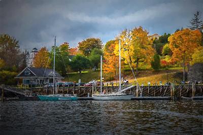 New England Fishing Port