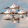 Rick Sammons, Thunderbirds in Diamond Formation, $100, 14x11, rightpathcfo@gmail.com 513-675-1122