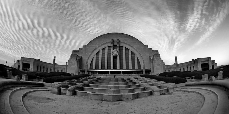 JennyHaralamos_Union Terminal_black and white print_20x10_$100_jenharley1@aol com_513-407-6638