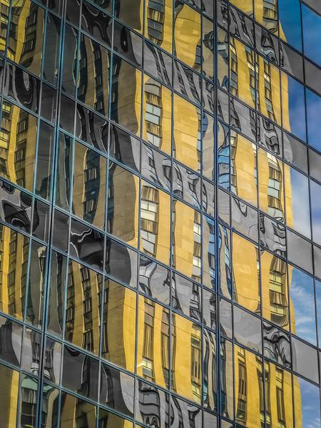 Meg Ruwe, 5th Ave., N.Y. Reflection