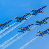 Constance Sanders, Blue Angels Flyby,  8x10 digital print framed to 11x13, $75, consanphotos@gmail.com, 855-391-3336