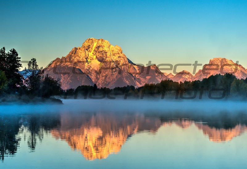 Fred Haaser, Misty Morning Grand Tetons Oxbow, Color Print 16x20 metal print, $175, Pack489@yahoo.com, 513-602-1734